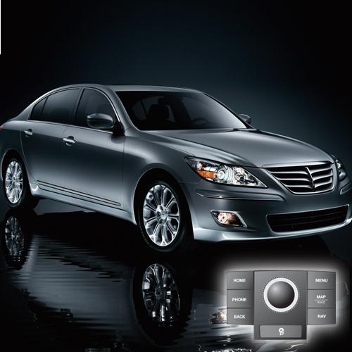 2009 Hyundai Genesis(JogDial/Premium) Map Update 121D01
