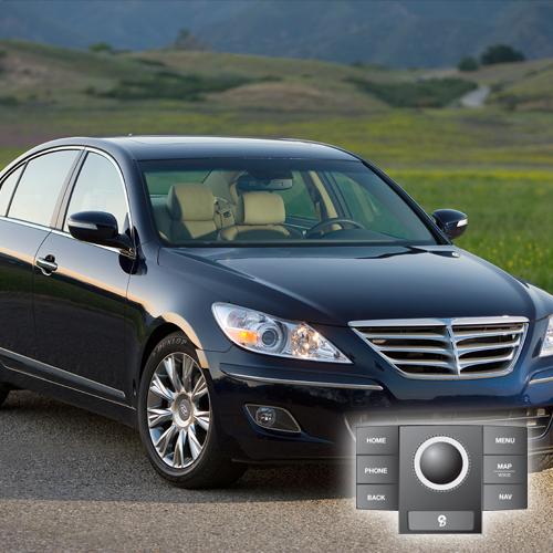 2010 Hyundai Genesis(JogDial/Premium) Map Update 121D01