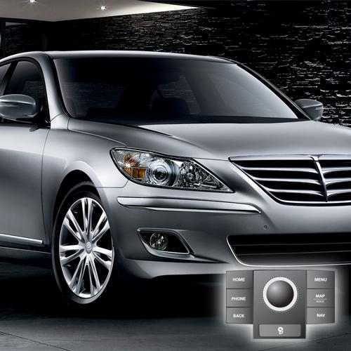 2011 Hyundai Genesis(JogDial/Premium) Map Update 121D01