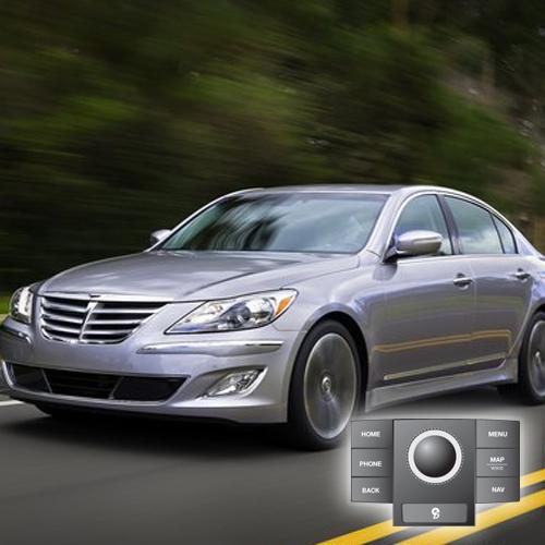 2012 Hyundai Genesis(JogDial/Premium) Map Update 121D01