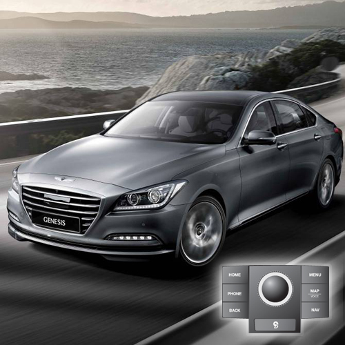 2014 Hyundai Genesis(JogDial/Premium) Map Update 141UP1BH