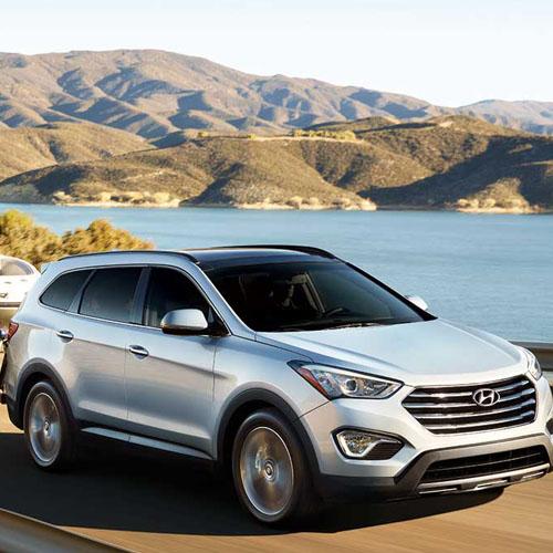 2014 Hyundai Santa Fe (Long Body) Map Update 143S3