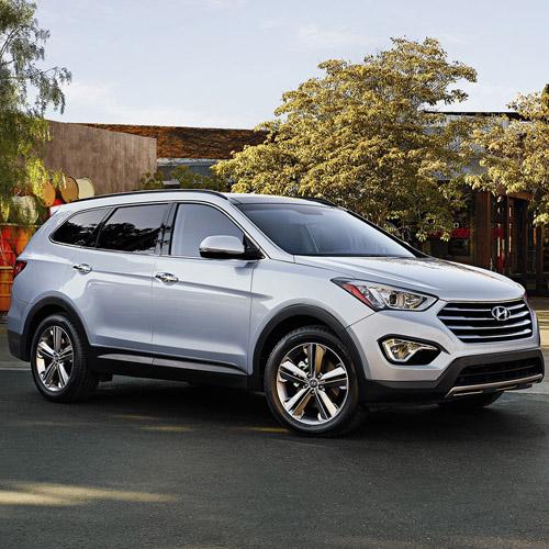 2015 Hyundai Santa Fe (Long Body) Map Update 141S3