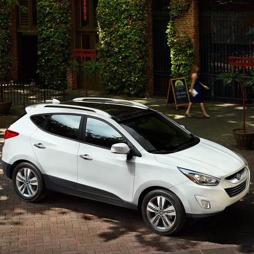 2014 Hyundai Tucson Fuel Cell Map Update 143S3